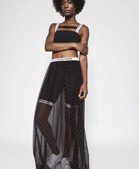 42|54 Woven Skirt Black
