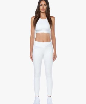 Koral Activewear Flight Mid Rise Legging - White