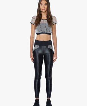 Koral Activewear High Rise Legging Black/Weave