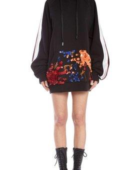 NO KA'OI Weana Long Sleeve Top with Embroidery