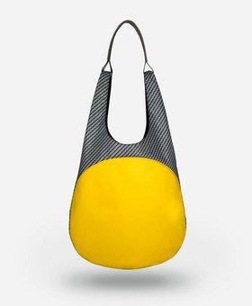 Apede Mod Kangaroo Tote-Yellow