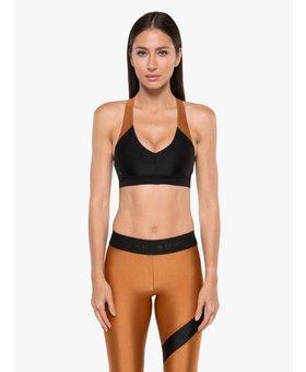 Koral Activewear Bunji Sprint Sports Bra Black/Sunstone