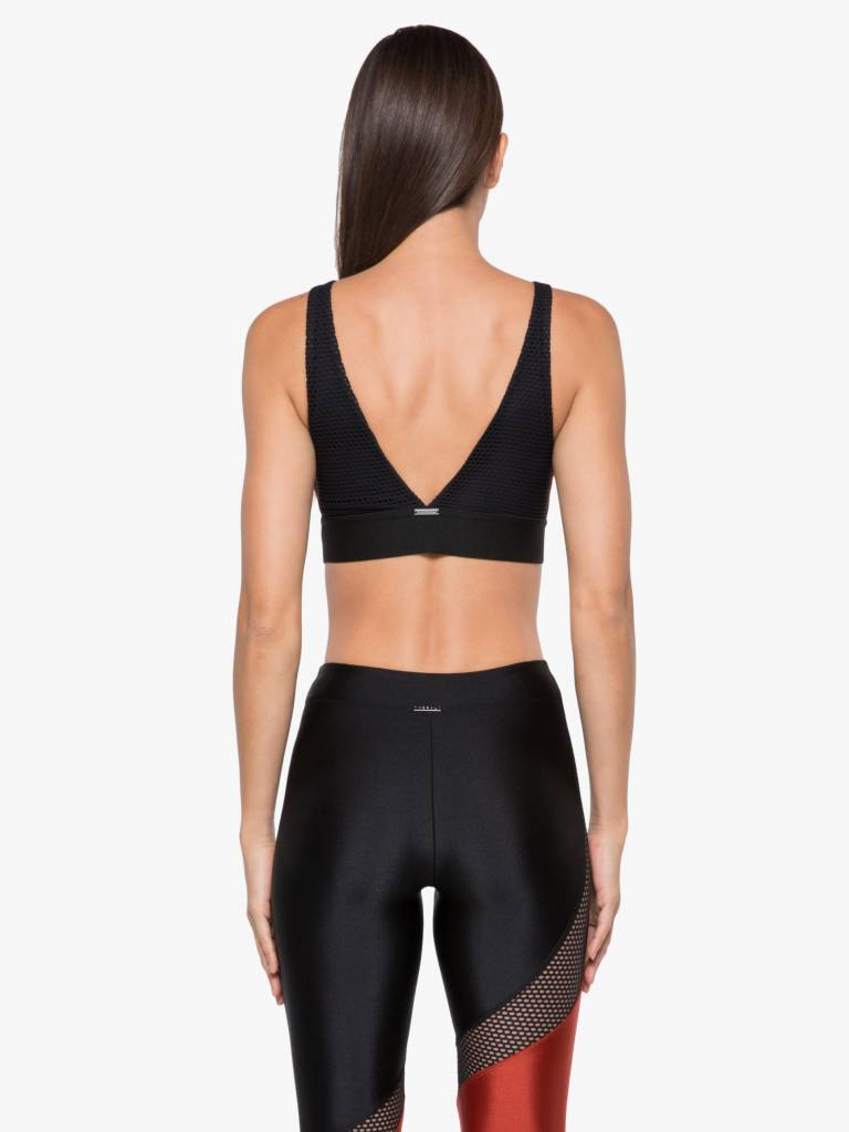 00234c85f Koral Activewear - Inner Sprint Sports Bra Rouge Black - STELLASSTYLE