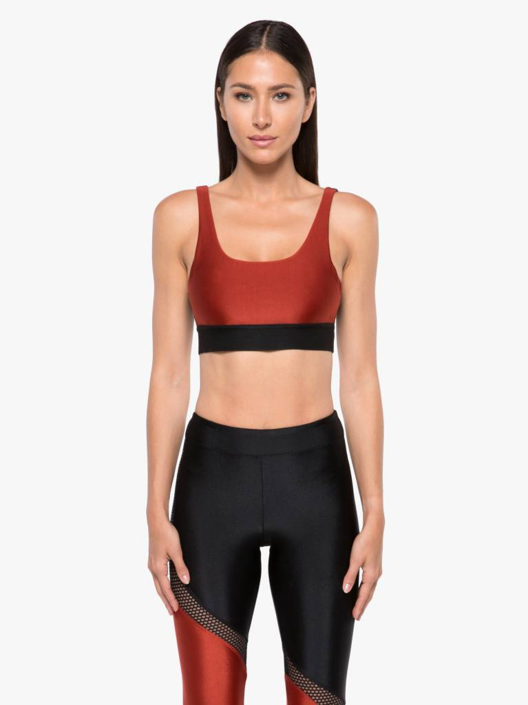 Koral Activewear Inner Sprint Sports Bra Rouge/Black