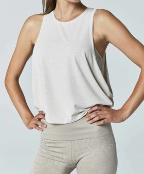 Varley The Buckley Crop Top - Oatmeal
