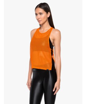 Koral Activewear Aerate Tank (Orange)