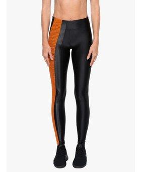 Koral Activewear Teazer High Rise Legging Black/ Jasper Orange