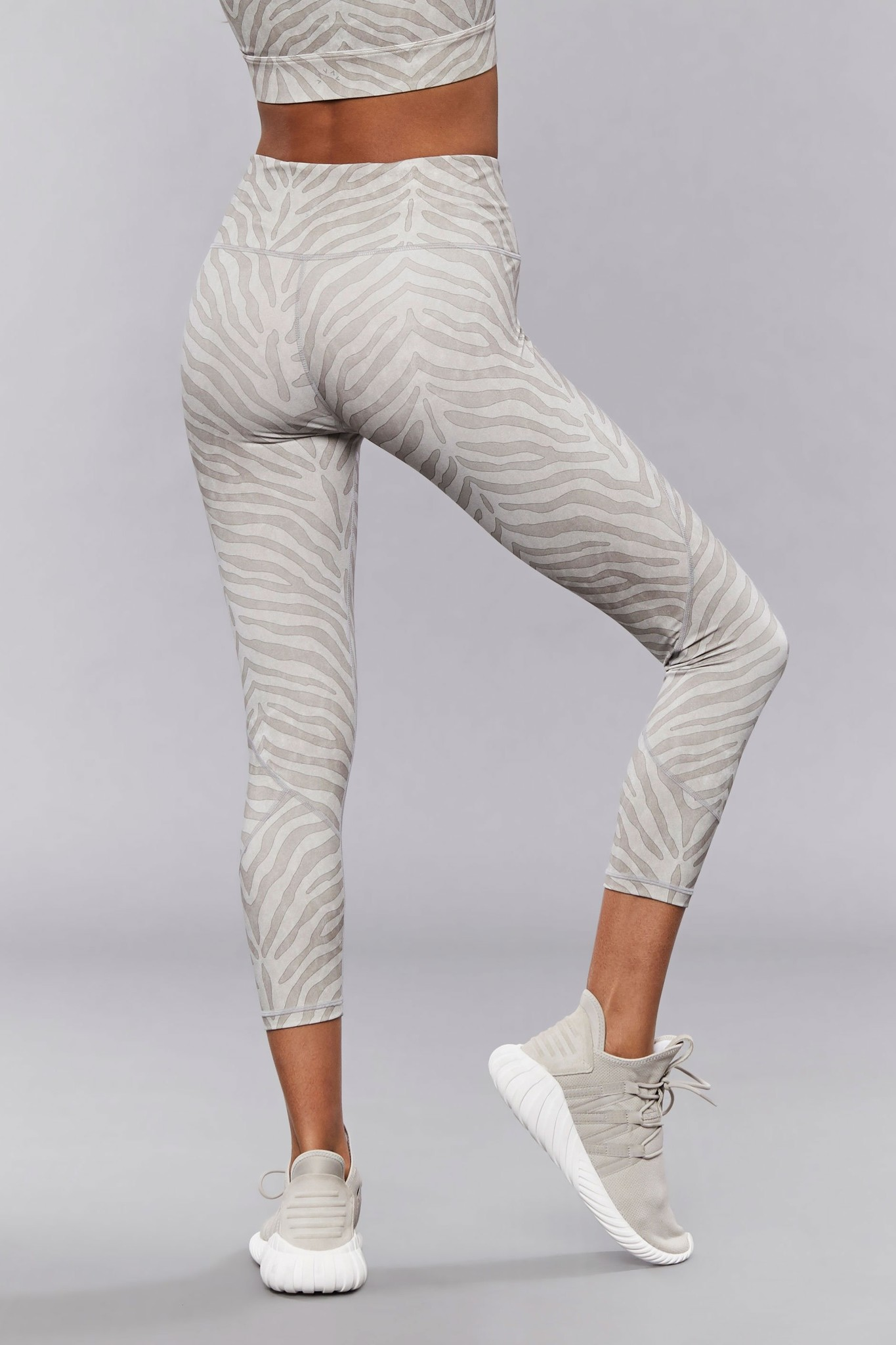 Varley Berkeley Bra Silver Zebra