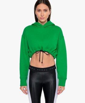 Koral Activewear Clover Matte Sweatshirt – Verde