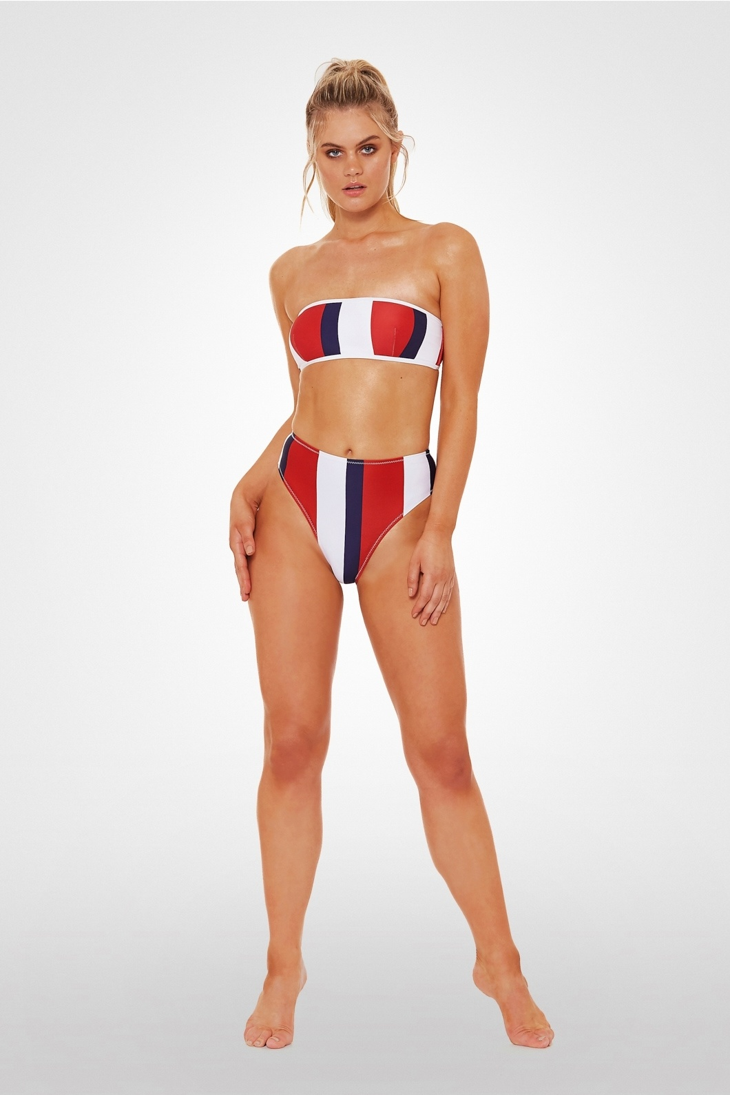L'urv  Bulletproof Bandeau navy/red/white