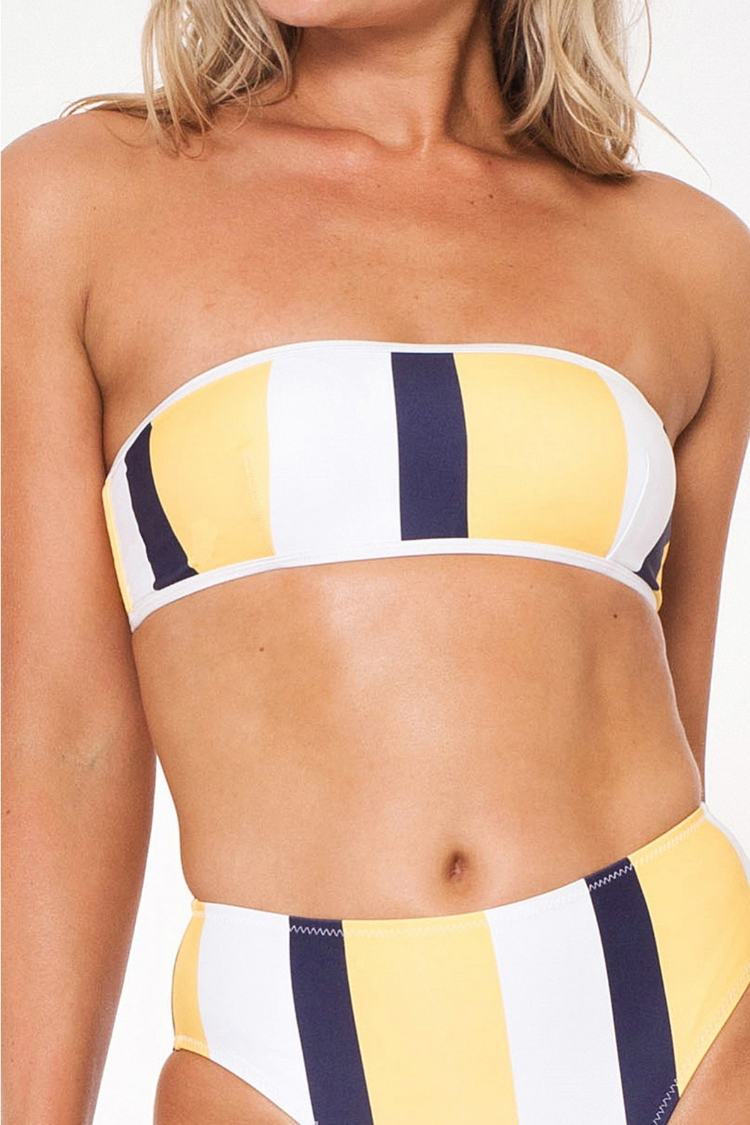 L'urv  Bulletproof Bandeau navy/yellow/white