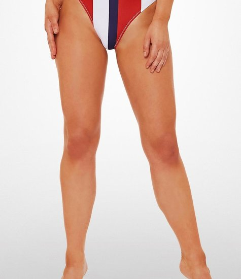 L'urv  Bulletproof Bikini Bottom navy/red/white
