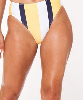 L'urv Bulletproof Bikini Bottom navy/yellow/white