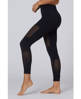 lurv Wellness Seamless 7/8 Legging Black
