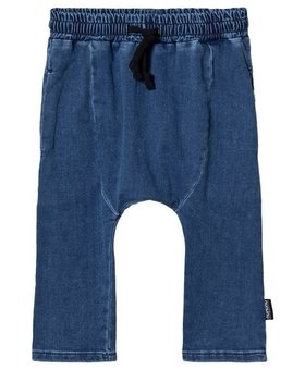 NUNUNU Denim Harem Pants