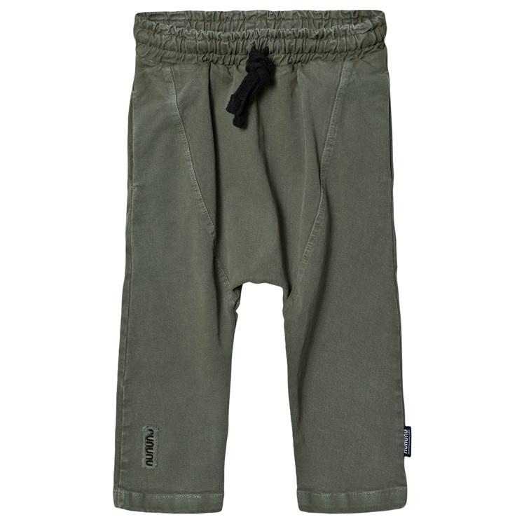 NUNUNU Military Harem Pants