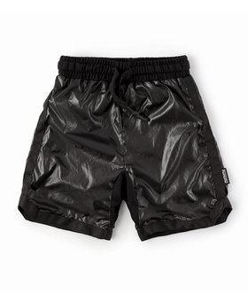 NUNUNU Nylon Basketball Shorts Black