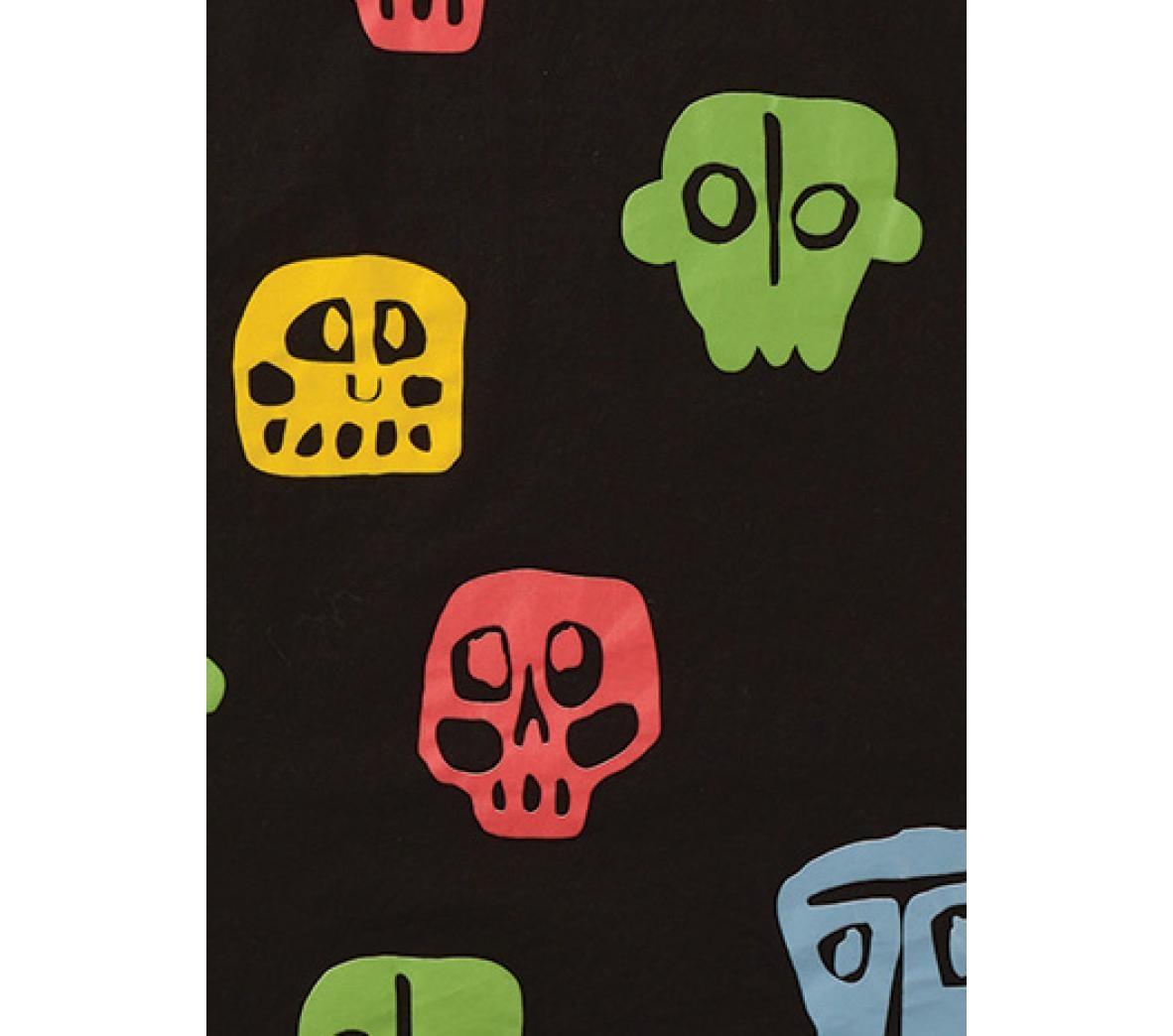 NUNUNU Rowdy Mask Leggings Colorful Black