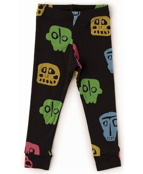NUNUNU Rowdy Mask Leggings Colorful Black