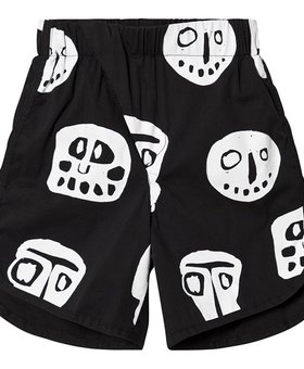 NUNUNU Rowdy Mask Surf Shorts Black