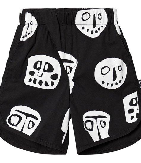 NUNUNU Rowdy Mask Surf Shorts Black