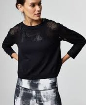 Varley The Halldale Seamless Long Sleeve Black