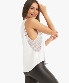 Koral Activewear Adriana Brisa Tank White