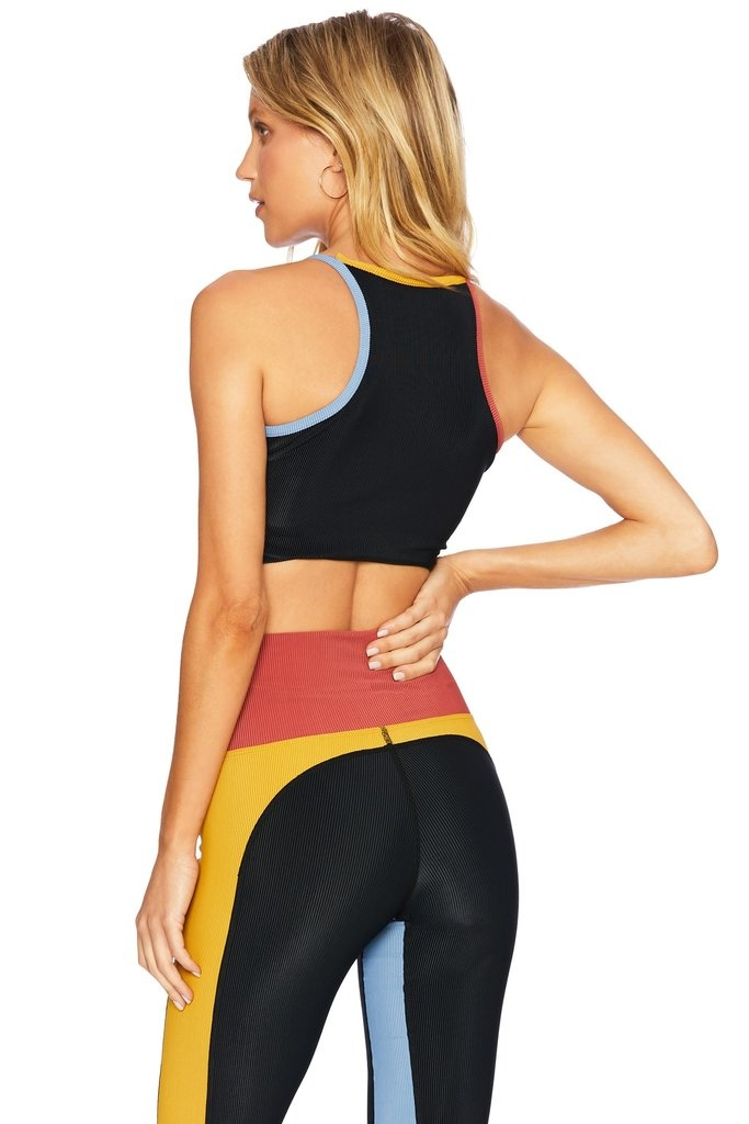 Beach Riot  Colorblocked Ribbed Legging