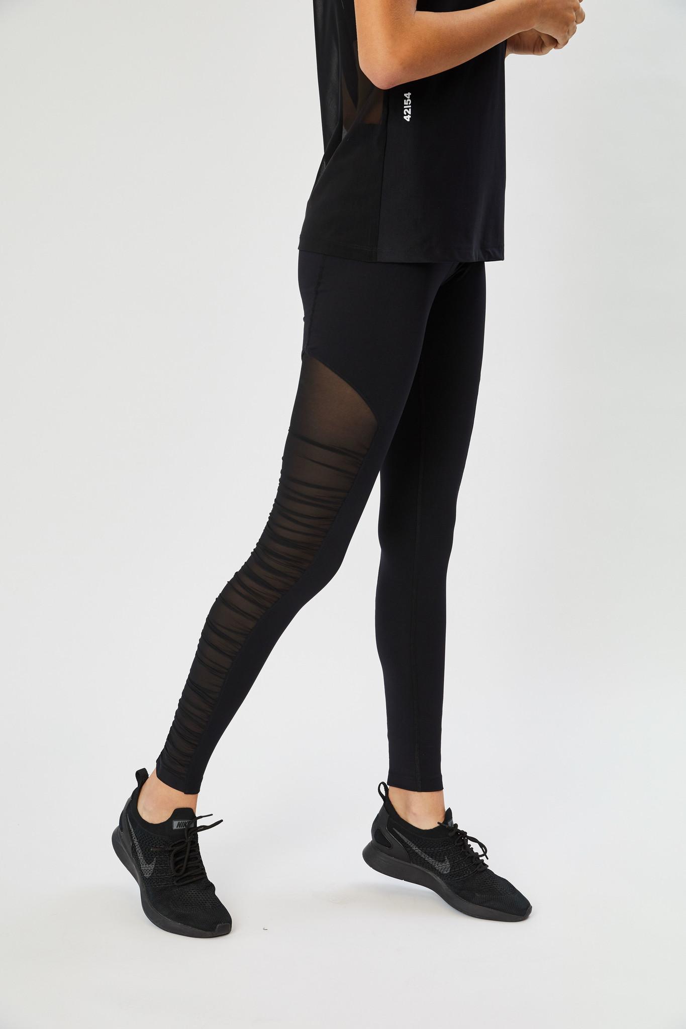42|54 Ruched leggings