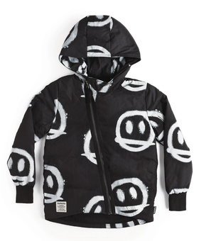 NUNUNU Sprayed Smiles Down Jacket