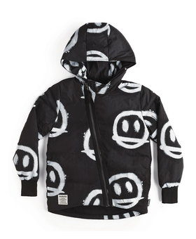 NUNUNU Sprayed Smiles Down Jacket