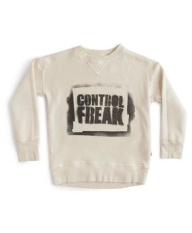 NUNUNU Sprayed Control Freak Sweatshirt