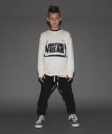 NUNUNU Sprayed Control Freak Sweatshirt