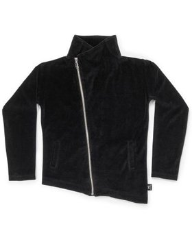 NUNUNU Velvet Bikers Jacket