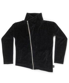 NUNUNU Velvet Bikers Jacket