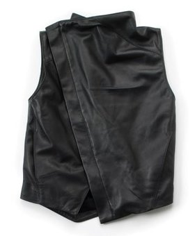 NUNUNU Leather Vest