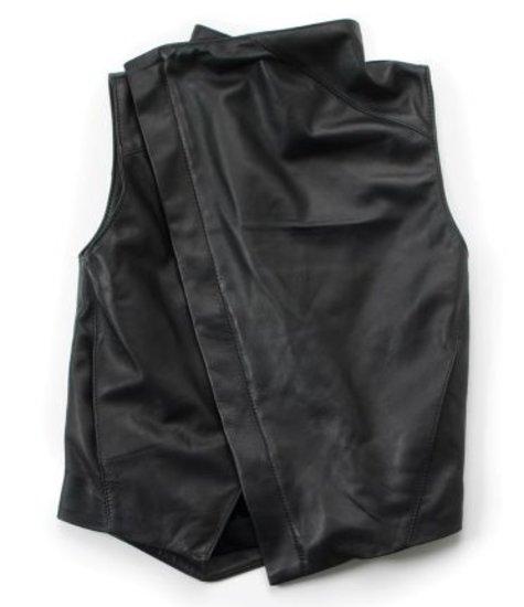 NUNUNU Leather Vest