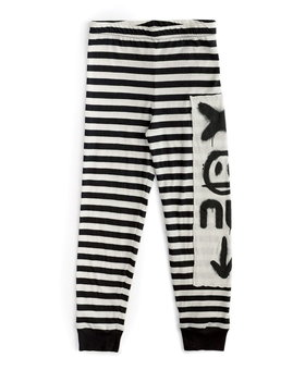 NUNUNU Total Elements Striped Leggings