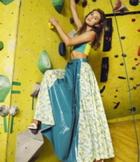 Maria Francesca Milani Ariana Printed Skirt