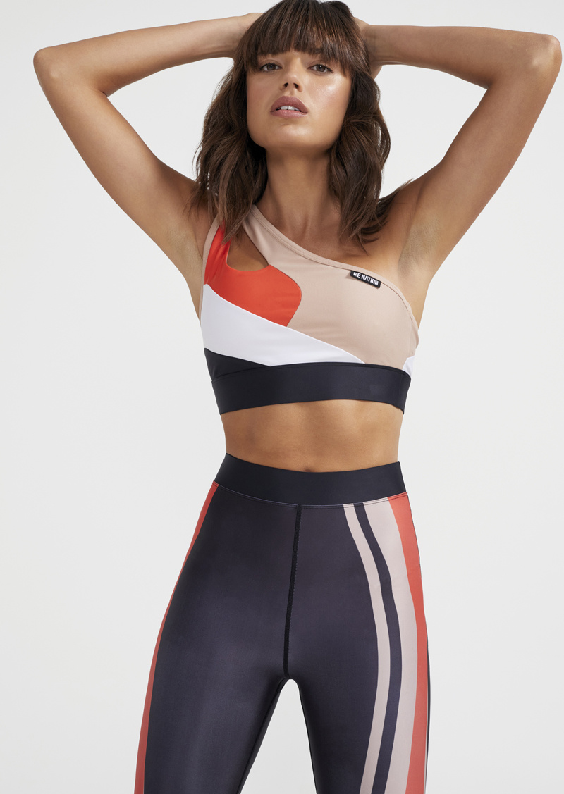 P. E Nation Pace Change Sports Bra