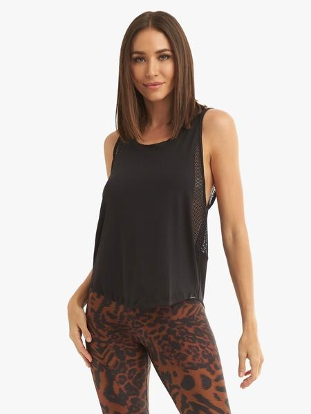 Koral Activewear Adriana Brisa Tank Black