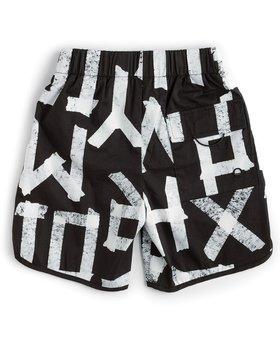NUNUNU Masking Tape Surf Shorts