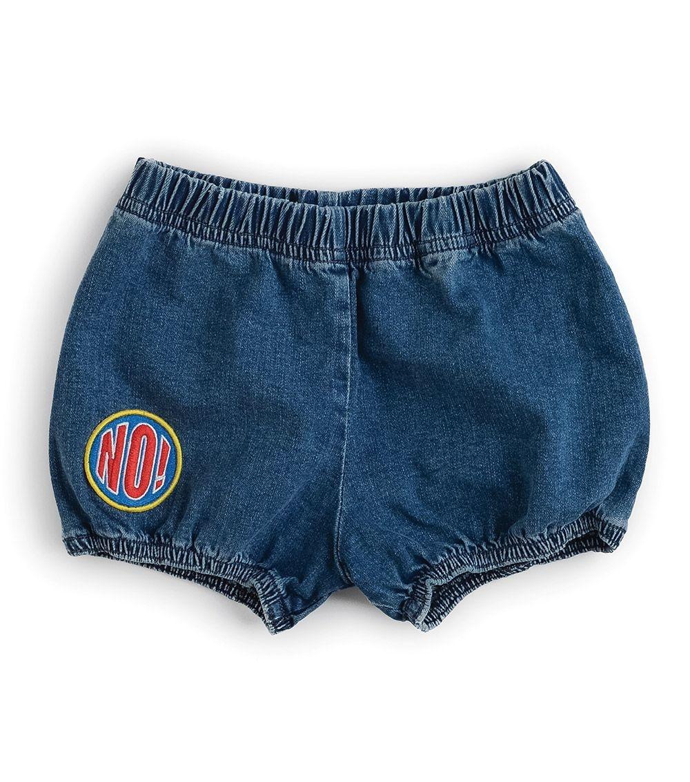 NUNUNU Denim Yoga shorts