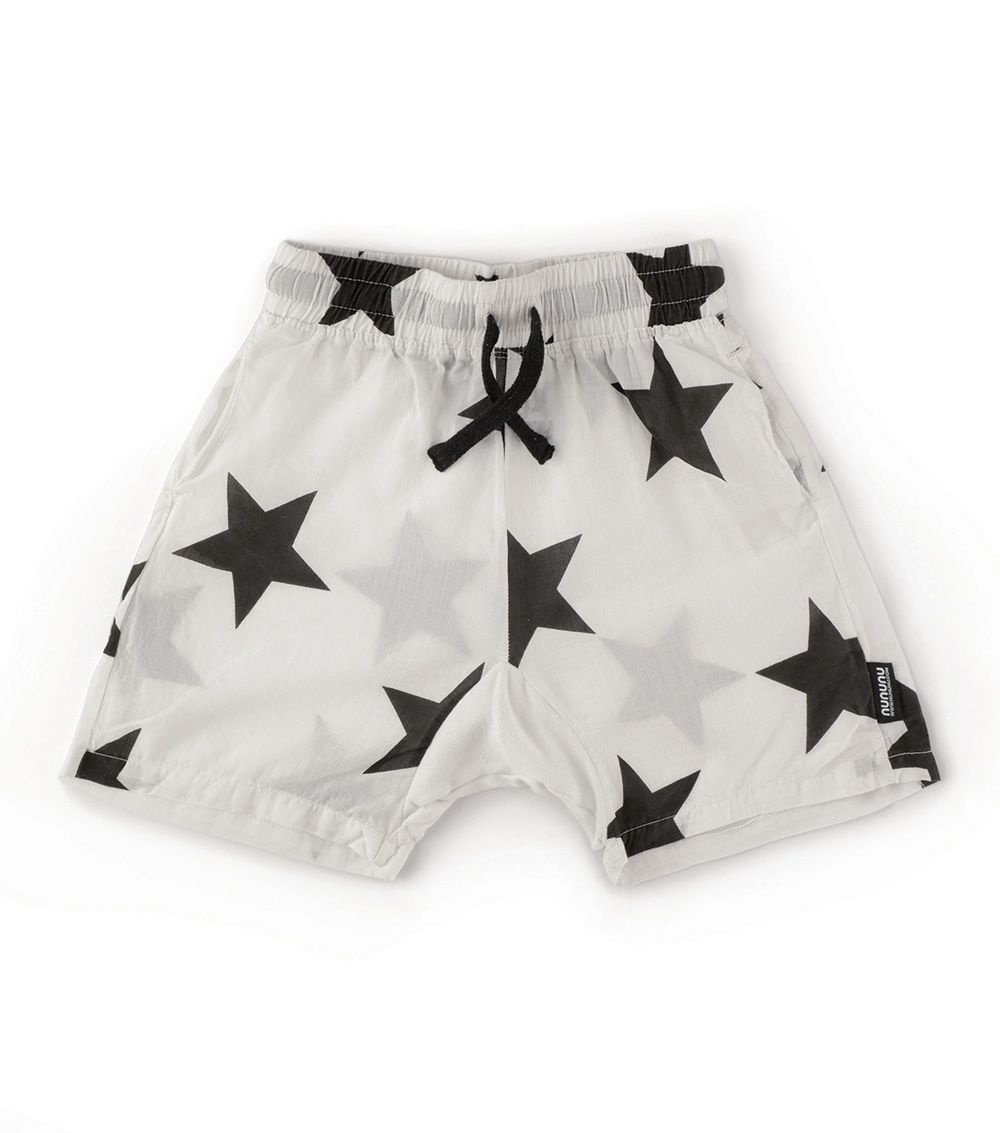 NUNUNU Stars Voile Shorts