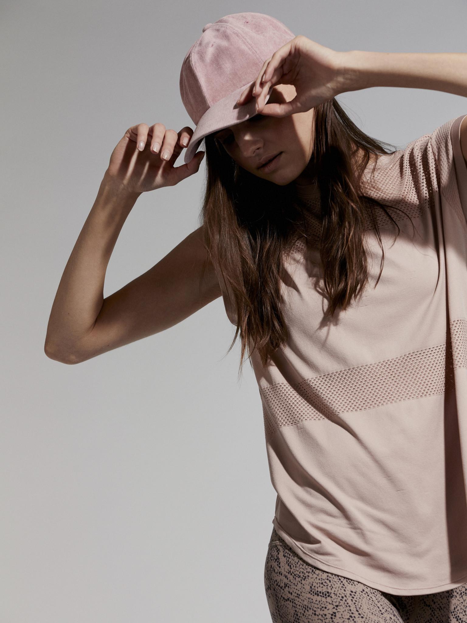 Varley Carley T-Shirt Shadow Rose