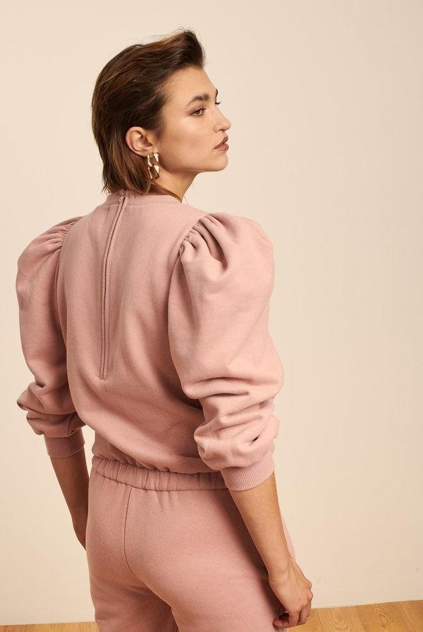 Madeleine Thompson Molly Onesie - Dusty Pink
