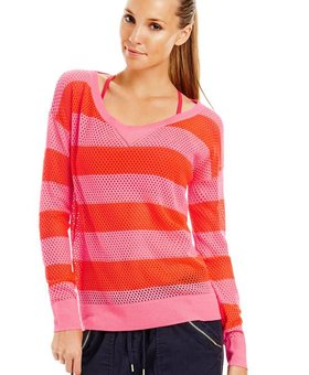 Lorna Jane Willow Long Sleeve Mesh Knit