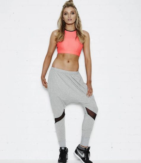 Tully Lou Relaxed Slouch Pant (grijs)