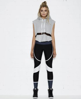Tully Lou The Bronx Top – Cropped Hoodie
