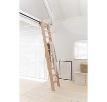 Raumsparende Dachbodentreppe